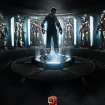 Ironman 3 Movie Poster 24inx36in Poster