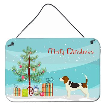 Beagle Christmas Tree Wall or Door Hanging Prints CK3519DS812