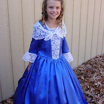 Historical Civil War Pioneer Days Handmade American Colonial Girl -Royal Eliza- Child Size