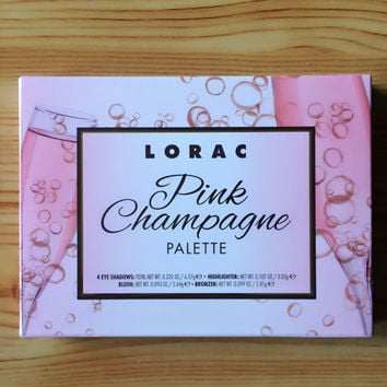 Lorac Pink Champagne 7 colors Eye Shadow [11043712204]