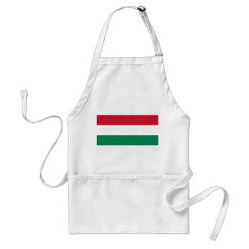 Apron with Flag of Hungary