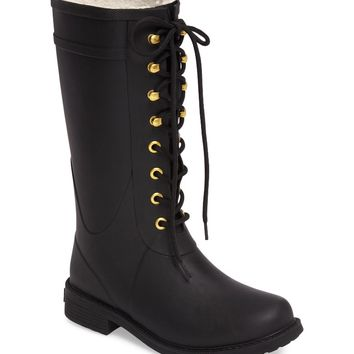Sam Edelman Kay Lace-Up Rain Boot (Women) | Nordstrom