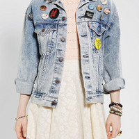 Urban Outfitters - Urban Renewal Pinned Denim Jacket