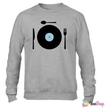 delicious Vinyl Set_ Crewneck sweatshirtt