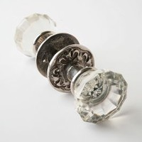 Tea House Doorknob by Anthropologie in Clear