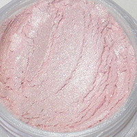 Pink Pearl Mineral EyeShadow Highlighter Brightens with Real Pearl - 5 Gram Jar with Sifter - On Sale