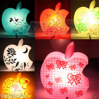 Romantic Apple Shape Desk Light Lamp Decoration New