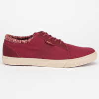 Reef Ridge Mens Shoes Maroon  In Sizes