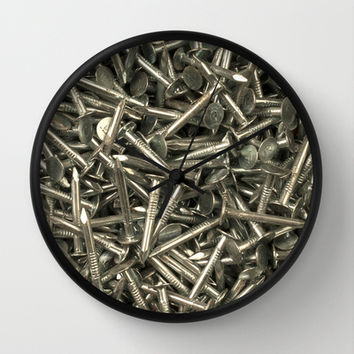 Nailed it Wall Clock by Bruce Stanfield