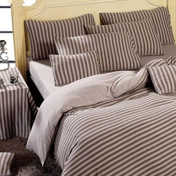 ac DCK83Q Bedroom Hot Deal On Sale Bedding Cotton Knit Bedding Set [45978779673]