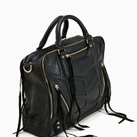 Briar Zip Satchel