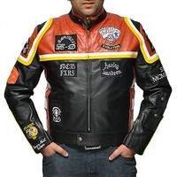 Harley Davidson Marlboro Man Leather Jacket - 100% Money Back Guarantee Offer