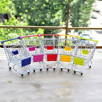 Mini Lovely Cart Trolley Small Pet Bird Parrot Rabbit Hamster Cage Play Toy