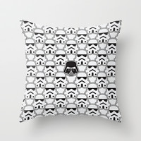 The Dark One Throw Pillow by Davies Babies