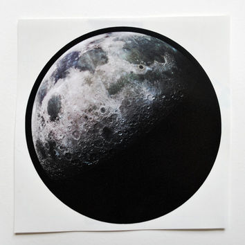 Moon Phase Sticker