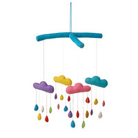 Rainbow Drops Mobile | rainbow baby room