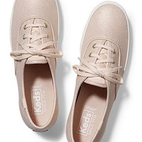 Rose Gold Metallic Keds