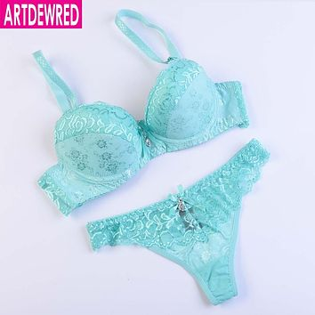 Sexy Lace Bra Strappy Women Bra Set Vs Secret Push Up Brassiere Bras For Women Sexy Bra And Panty Sets Women Clothing Underwear
