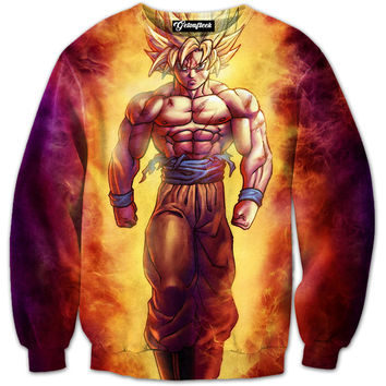 Fierce Goku Crewneck