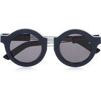 House of Holland On The Wire round-frame acetate sunglasses – 65% at THE OUTNET.COM