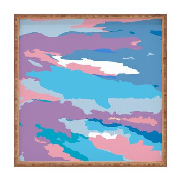 Rosie Brown Painted Sky Square Tray