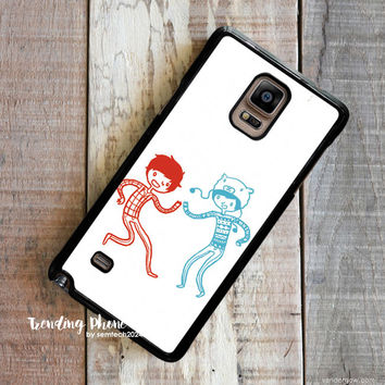 Amazingphil And Danisnotonfire Samsung Galaxy Note 4 Case Cover for Note 3 Note 2 Case