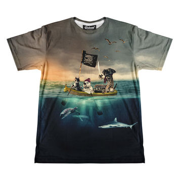 Captain Kitty Men's Tee