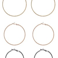 Queen Of Everything Hoop Set - Multi
