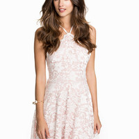 Cross Strap Back Skater Dress, NLY One