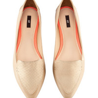 Leather Loafers - from H&M