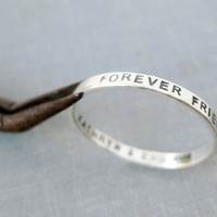 2mm Personalized Ring - Stamped Inside AND Outside