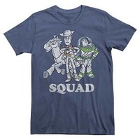 Disney® Men's Toy Story Squad T-Shirt Navy : Target