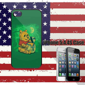 winnie-the-pooh-honey-bear-robot- IPhone 5 Case,IPhone 4/4S Case,Samsung Galaxy S2/S3/S4 Accessories Cell Phone