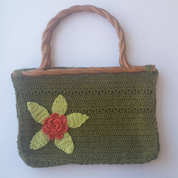 women bag, crochet bag, handbag, cotton handbag, handmade bag, crochet lady bag, girl bag, handbag with handle, summer bag, cotton bag