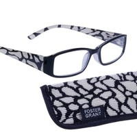 Womens | Reading Glasses | Foster Grant | Tatum | Black