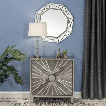 Symonds Diamond Accent Mirror