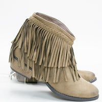 Kickin' Class Fringe Ankle Boot