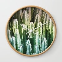 The Gathering Wall Clock by Lisa Argyropoulos