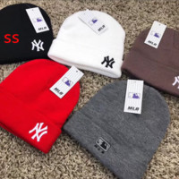 NY NEW YORK knittedted Beanie Cap Hat Winter Warm