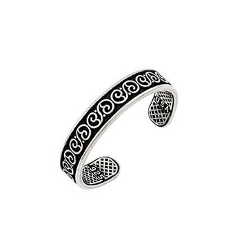 Sterling Silver Celtic Adjustable Toe Ring