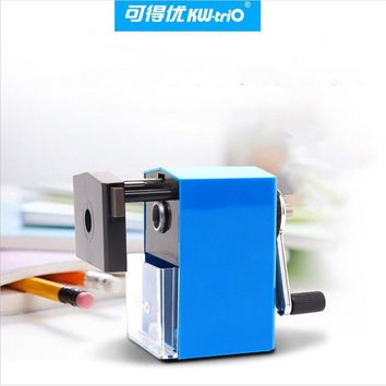 Pencil sharpener adjustable thickness hand roll pencil sharpeners Stationery Office School Supplies Metal handle steel head