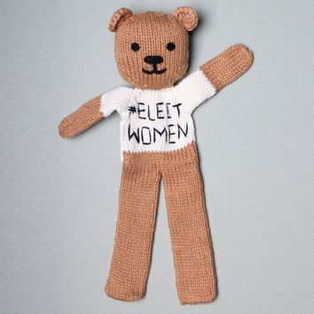 Organic #ElectWomen Bear Baby Soother
