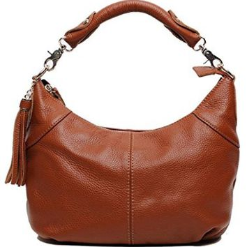 Tom Clovers Summer New Women's Genuine Leather Collection Crossbody Shoulder Bag Clutch Top-shoulder Bags with Tassels