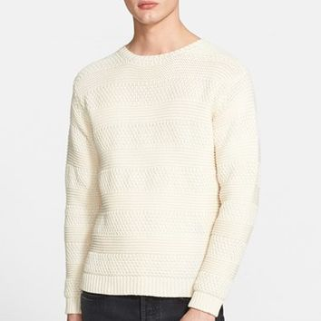 Men's A.P.C. 'Falaise' Cotton Fisherman Sweater,