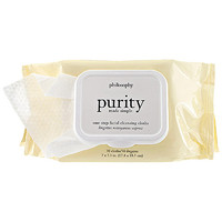 Purity Made Simple One-Step Facial Cleansing Cloths - philosophy | Sephora