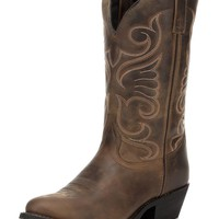 Women's Bridget Round Toe Boot - Tan Distressed