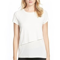 Women's Ivanka Trump Tiered Stretch Knit Top,
