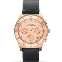MARC BY MARC JACOBS Rose Gold Blade Watch, 40mm
