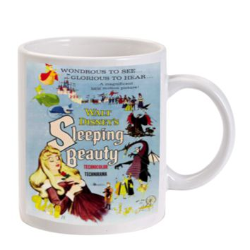 Gift Mugs | Disney Sleeping Beauty Inspired Vintage Poster Ceramic Coffee Mugs
