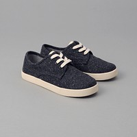 TOMS x The Hill-Side Youth Paseo, Navy Herringbone Tweed